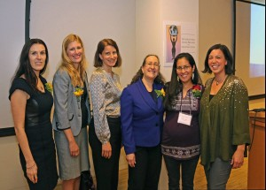 IANGEL Board Members with Camila Chavez, Executive Director of the Dolores Huerta Foundation