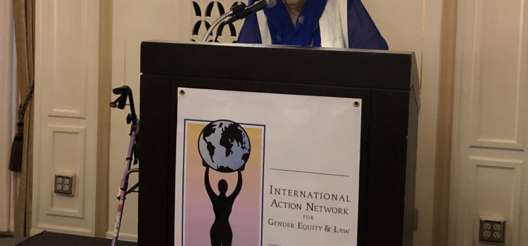2019 Amel Zenoune-Zouani Rights and Leadership Awardee: Dr. Riffat Hassan