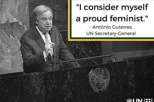 Women & Power with UN Secretary-General Guterres